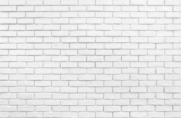 White brick wall wallpaper