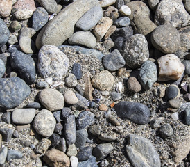 rocks and sand background