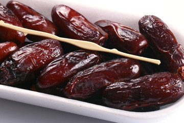 A dried ripe date for trade and how health food