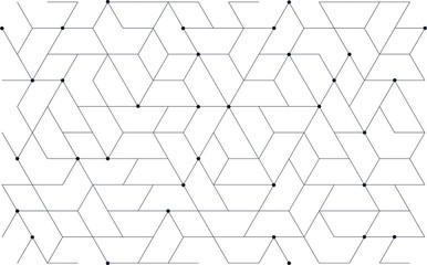 Tillable grid mesh geometric pattern repeatable technology hi-tech