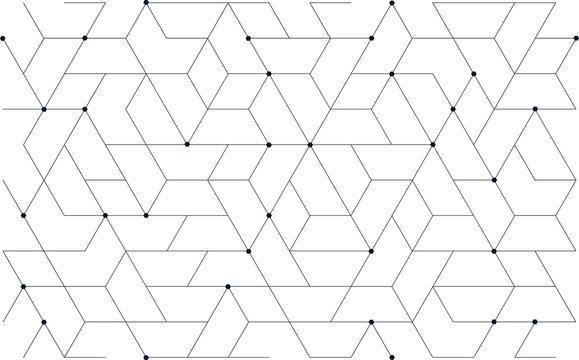 Tech Pattern, Tillable grid mesh geometric pattern repeatable technology hi-tech