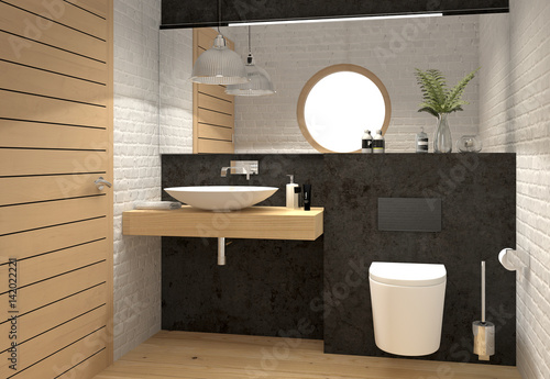 g ste wc kleines wc toilette bad klein stockfotos und lizenzfreie bilder auf. Black Bedroom Furniture Sets. Home Design Ideas