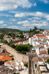 Obidos is a town in the Oeste Subregion in Portugal