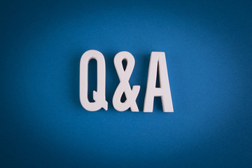 Q&A Sign Lettering