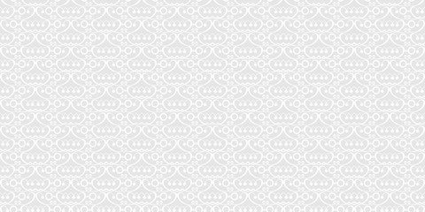 Vector seamless pattern. Grey and white color. Pattern for your projects. Design wallpaper, decoration pattern repeating, pattern for graphic design.