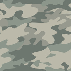 Seamless Camouflage pattern military background.