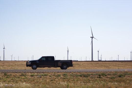 Wind Turbines Texas