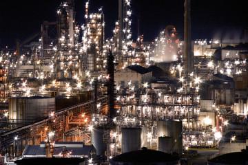 東燃ゼネラルの工場夜景