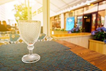 single wineglass