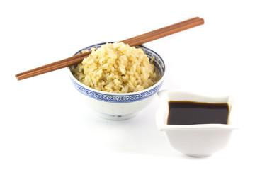 Riso e salsa di soia
