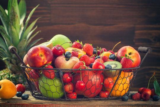 Fresh Healthy Organic Fruits