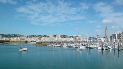 Le Havre, port de plaisance (France)