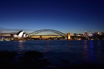 Opera House after sunset