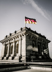 Reichstag Kuppel in Berlin