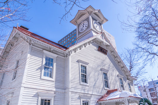 札幌市時計台 /1878年竣工 旧札幌農学校演武場
