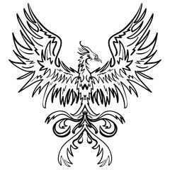 Sketch drawing of Phoenix
