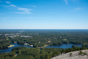 Landscape from Stone Mountain