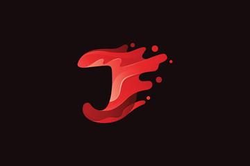 Abstract J Logo