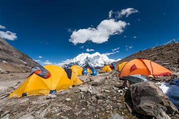Manaslu base camp, Nepal