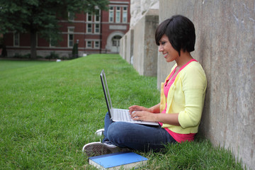Female Latino student