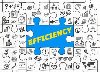 Efficiency / Puzzle mit Symbole