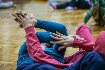 dancer contact hand