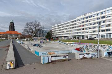 Skaterpark Lingnerallee Dresden