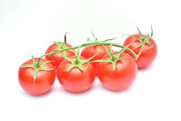 Wall Mural - tomato isolated on white background
