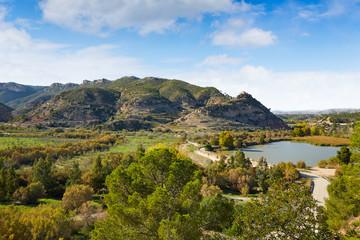 Domeno reservoir in Valencia of Spain