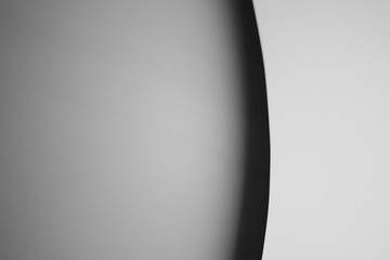 Abstract black and white line. Background
