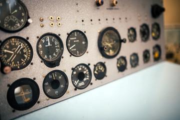 AircrafAircraft control panel.t control panel.