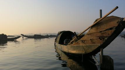 Lagune Tam Giang, village flottant