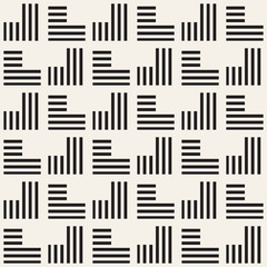 Seamless pattern with stripes. Vector abstract background. Stylish lattice structure