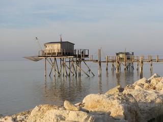 Charente-Maritime - Marsilly -  Carrelets près de La Rochelle