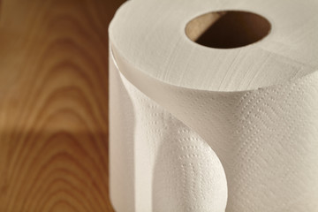 "roll of toilet paper, called a ""toilet roll"" in some English-speaking countries"