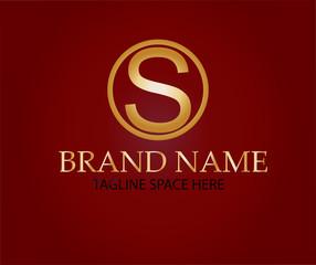 Letter S logo design brand