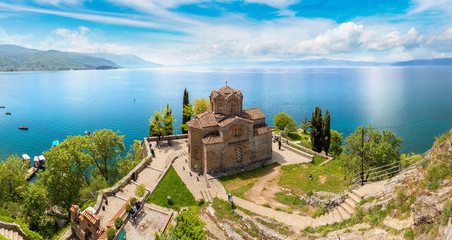 Wall Mural - Jovan Kaneo church in Ohrid, Macedonia