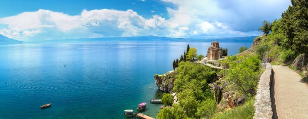 Panorama of Ohrid city