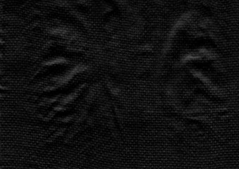 Abstract black texture background with textile
