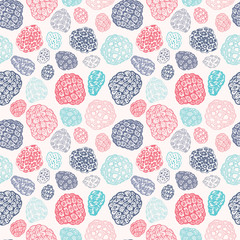Vector seamless pattern with corals