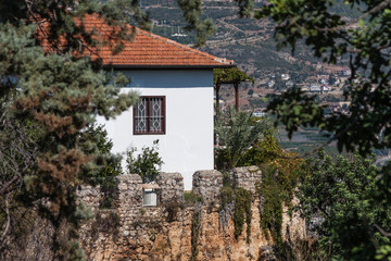 Old stone house inside Alanya castle