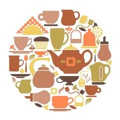 Symbols of tea