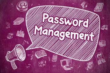 Password Management - Business Concept.