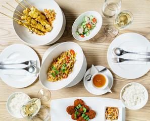 set in the Thailand restaurant