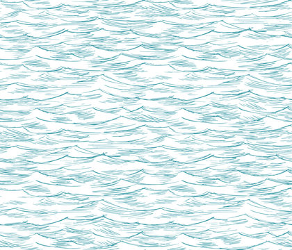 sea, ocean, seamless