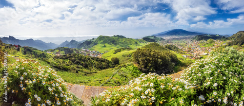Mirador de jardina tenerife stock photo and royalty for Jardina