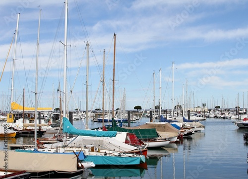 Bateaux dans le port de plaisance d 39 arcachon immagini e fotografie royalty free su - Restaurant arcachon port de plaisance ...