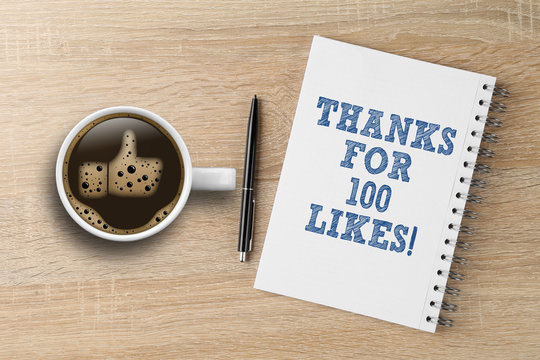 Thanks for 100 likes
