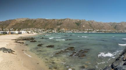 Beach Scene. Gordons Bay. False Bay. Western Cape. South Africa