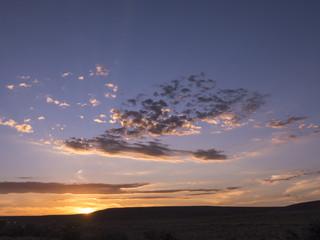 Tankwa Karoo sunset. Northern Cape. South Africa.